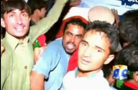 PTI Workers Attack Geo News Office in Islamabad, Geo News Exclusive Video