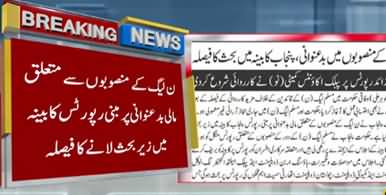 Punjab Govt Initiates Accountable Action Against PMLN Leaders