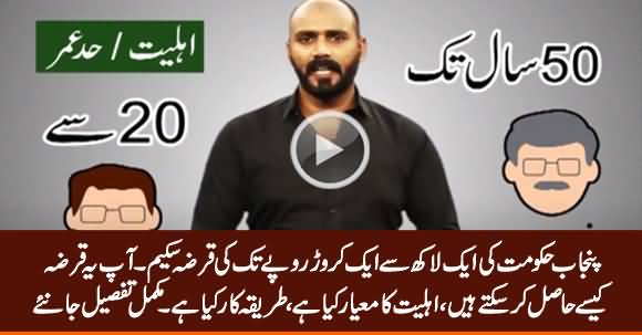 Punjab Govt's Loan Scheme: How You Can Get This Loan? Complete Procedure