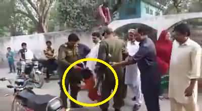 Punjab Police bad behavior with little kid- Must Watch