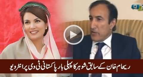 Q & A with P.J Mir REPEAT (Reham Khan's Ex Husband Interview) – 1st November 2015