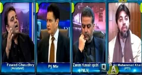 Q & A with PJ Mir (Appointment of Governor Gilgit Baltistan) – 17th February 2015