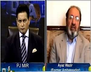Q & A with PJ Mir (India Trying to Destabilize Pakistan) – 19th May 2015