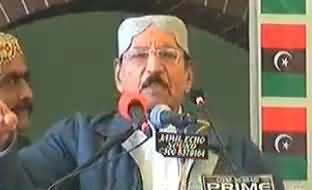 Qaim Ali Shah Ki Zuban Phisal Gayi, Asif Zardari Ko Darbari Keh Dia