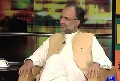 Qamar Zaman Kaira Sharing His Views on Panama And Defending PTI Too