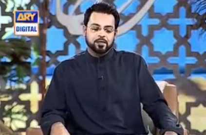 Qandeel Baloch Live Call In Aamir Liaquat Show - Hilarious Video