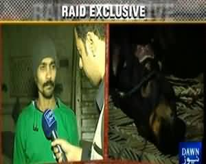 Raid (Exclusive Raid First Time in Pakistani Media) - 28th December 2013