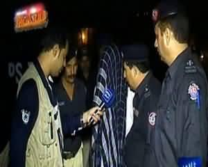Raid (Police Se Bandook Cheen Ke Chor Apne Apko Muhafiz Samjh Bethe) - 13th November 2013