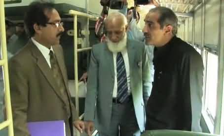 Railway Authorities Tried to Fool Khawaja Saad Rafique But Caught Red Handed