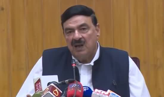Railway Minister Sheikh Rasheed Ahmad Press Conference - 20th July 2019