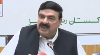 Railway Minister Sheikh Rasheed Ahmad Press Conference - 18th May 2019