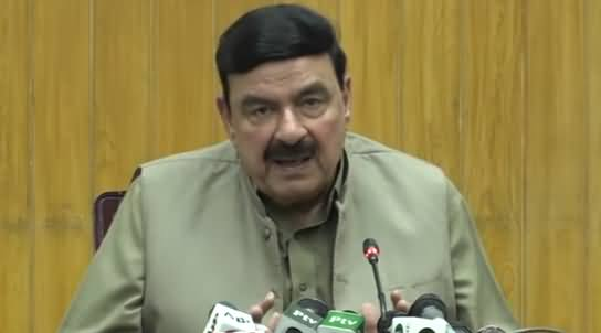 Railways Minister Sheikh Rasheed's Complete Press Conference - 13th July 2019