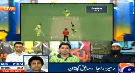 Ramiz Raja Analysis on Pakistani Team's Defeat Against Australia in Quarter Final