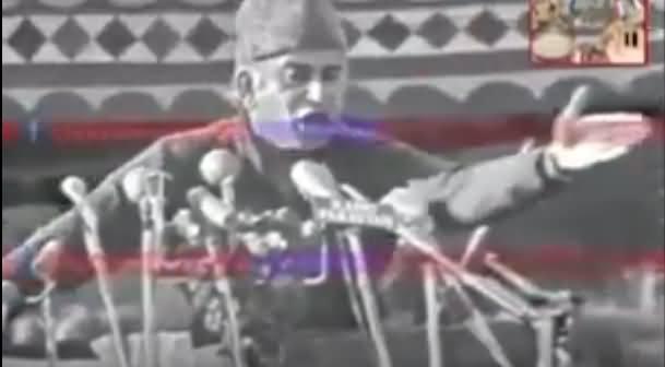 Rare Speech of Zulfiqar Ali Bhutto in Rawalpindi Jalsa