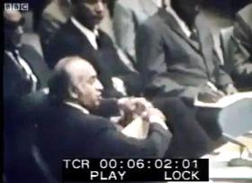 Rare Speech of Zulfiqar Ali Bhutto in UN Security Council When he Tore the Resolution into Pieces