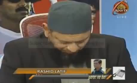Rashid Latif Crying Talking About Junaid Jamshed And Made Others Cry As Well