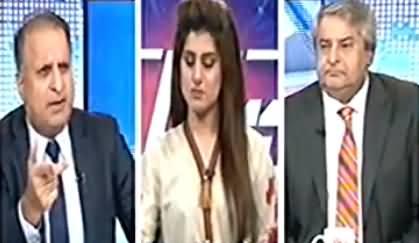 Rauf Klasra Badly Criticizing Nawaz Sharif on Saying