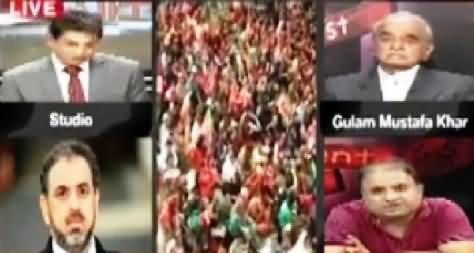Rauf Klasra Blasts Ghulam Mustafa Khar on His Face For His So Called Slogan of Change