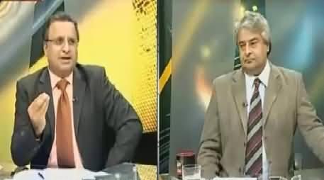 Rauf Klasra Telling How Imran Khan Took U-Turn & Joined Hands With PPP