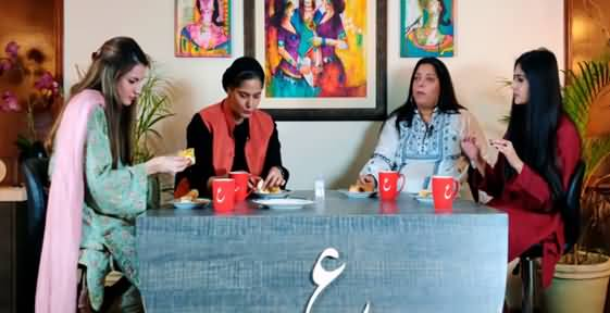 Reema Omer, Benazir Shah, Natasha And Mehmal Sarfraz Trying Lahore's Vada Pav For The First Time