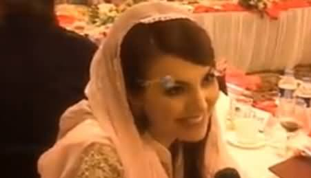 Reham Khan First Time Speaking Pashto While Talking To Khyber Tv