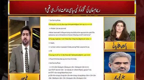 Reham Khan Many Times Tried To Contact PMLN Leaders While Working in Neo News- Nasrullah Malik Reveals