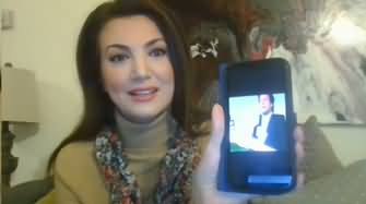 Reham Khan Showing Imran Khan's Clip And Discussing Malik Riaz Money Issue
