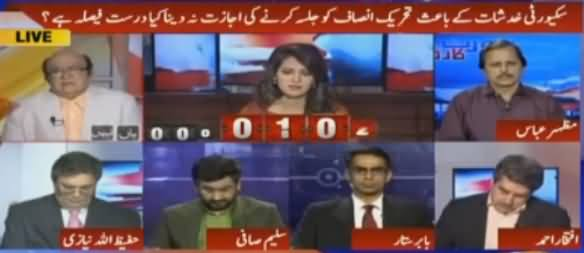 Report Card (Govt Refused To Allow PTI For Lahore Jalsa) – 29th April 2016