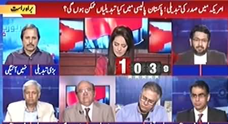 Report Card (Impact of US Election on Pakistan) - 8th November 2016