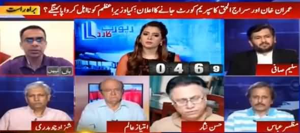 Report Card (Imran Khan ka Supreme Court Jane Ka Elan) - 16th August 2016