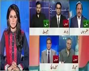 Report Card On Geo News (35 Punctures, Who Is Right?) – 2nd July 2015
