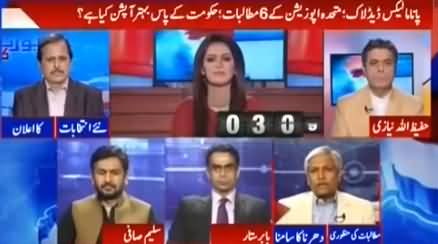 Report Card (Panama Leaks: 6 Demands of Opposition) - 20th June 2016