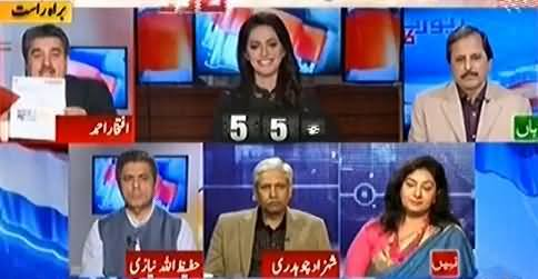 Report Card (Should Imran Khan Be Allowed To Address on PTV) – 8th April 2016