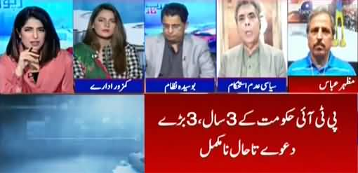 Report Card (Three Years of PTI Government) - 4th September 2021