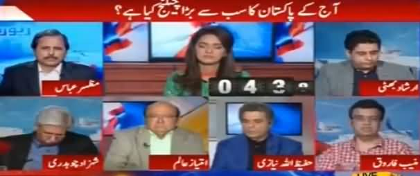 Report Card (What Is The Biggest Challenge For Pakistan) - 23rd March 2017