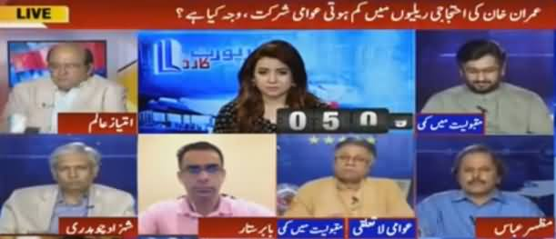 Report Card (Why People Not Participating in Imran Khan's Rallies) - 17th August 2016