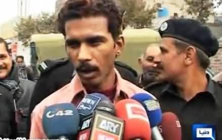 Roadside Lover Kamran Talking to Media in Police Custody