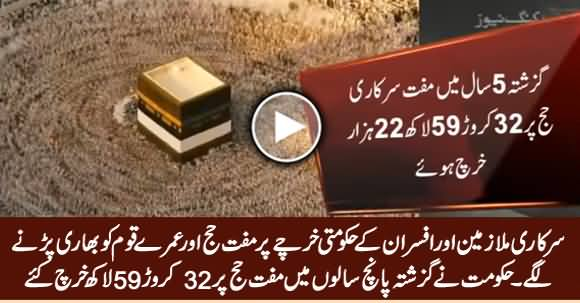 Rs 32.6 Crore Spent in Last Five Years on Free of Cost Hajj Of Govt Employees
