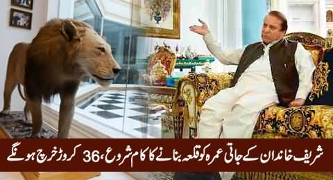 Rs. 364 Million Released by Punjab Govt for Security of Raiwind Palace & Sharif Family