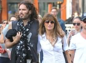 Russell Brand and Jemima Khan Step out together in New York - Is Russel in Love with Jemima?