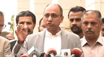 Saeed Ghani Demands to Place Aleema Khan's Name on ECL