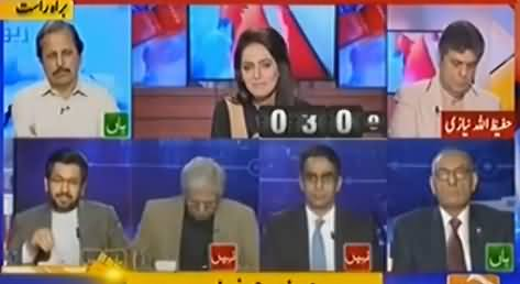 Saleem Safi's Critical Comments On Nehal Hashmi's Controversial Statement