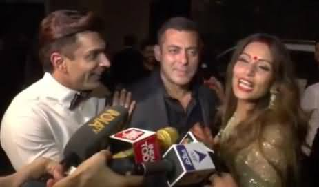 Salman Khan Insults Reporter For Asking About His Marriage At Bipasha's Wedding