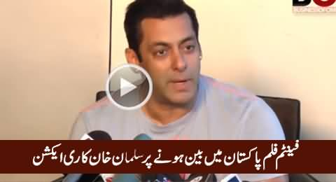 Salman Khan's Reaction on Phantom Film Being Banned in Pakistan