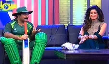 Samaa Char (Comedy Show on Samaa News) - 28th September 2014