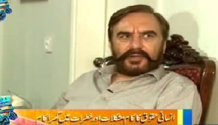 Samaa Kay Mehmaan (Ansar Burney Special Interview)– 1st June 2015