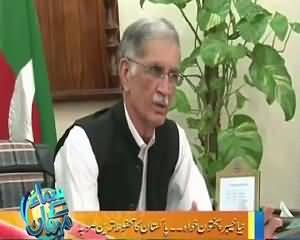 Samaa Kay Mehmaan (Pervez Khattak Exclusive Interview) – 28th September 2015