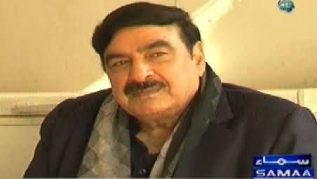 Samaa Kay Mehmaan REPEAT (Sheikh Rasheed Special Guest) – 31st July 2015