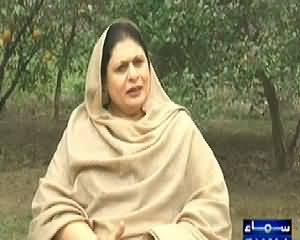 Samaa Kay Mehmaan (Tehmina Daultana Exclusive Interview) - 29th December 2014