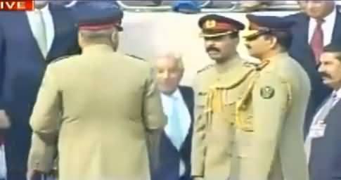 Sami Ibrahim Shows Funny Scene How Khawaja Asif Rushed To Meet General Raheel